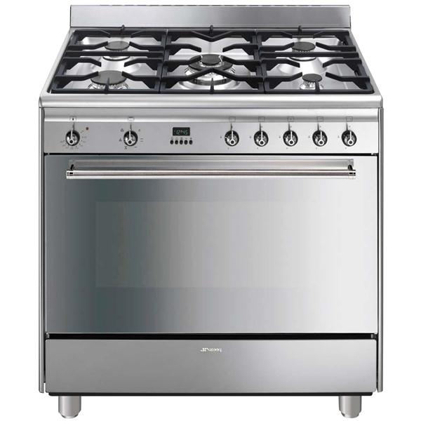 Photo Piano De Cuisson Smeg Mixte GA91X