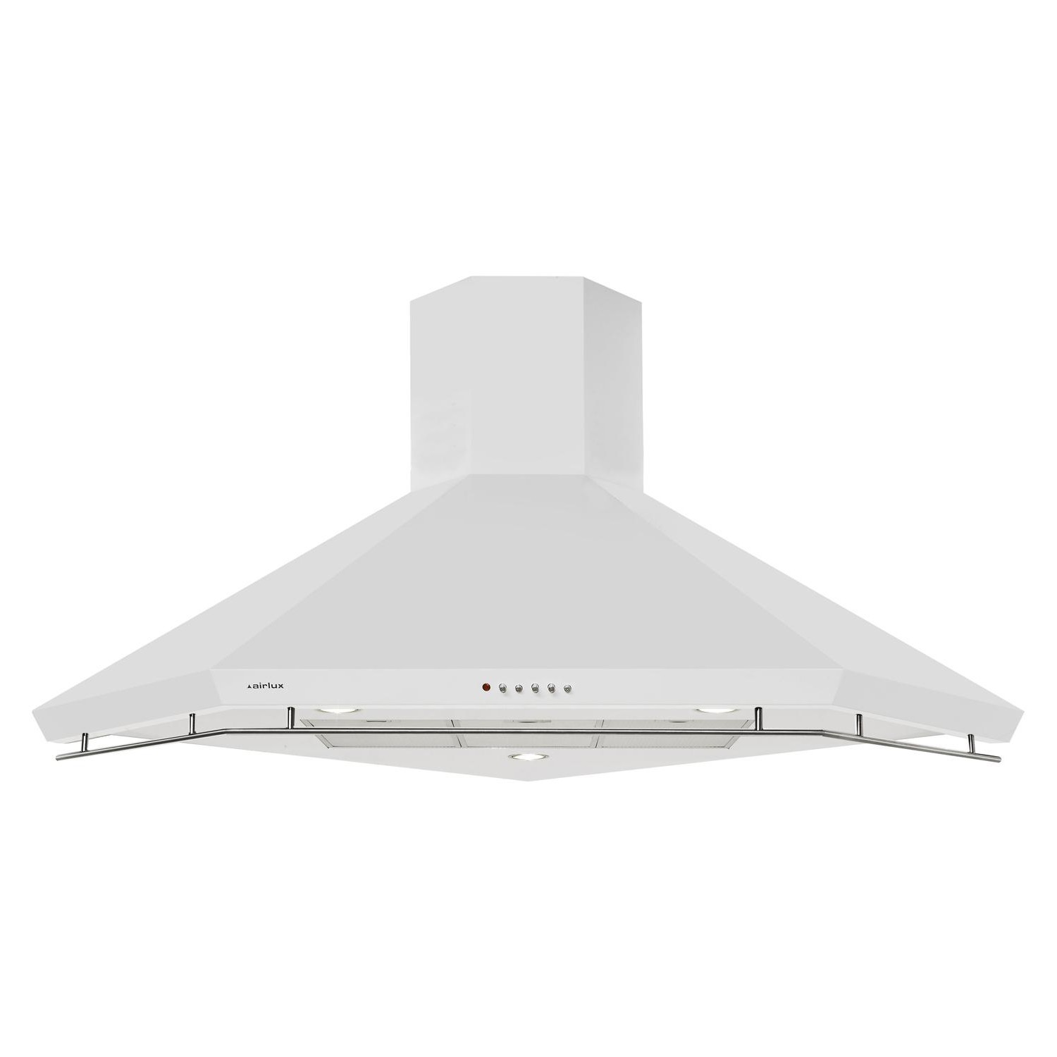Hotte D Angle Cuisine hotte d'angle airlux ahk110wh - pas cher - electro10count