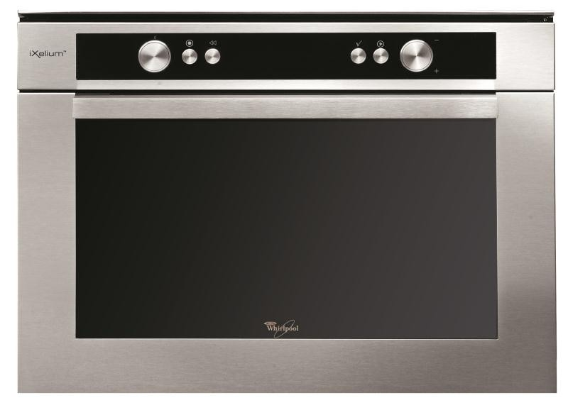 Photo Micro-Ondes Whirlpool Combiné Encastrable AMW835IXL