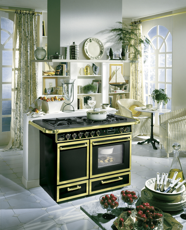 Cuisini re godin 021633 pas cher - Cuisiniere piano godin ...