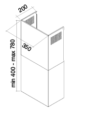 hotte falmec 118094 pas cher. Black Bedroom Furniture Sets. Home Design Ideas