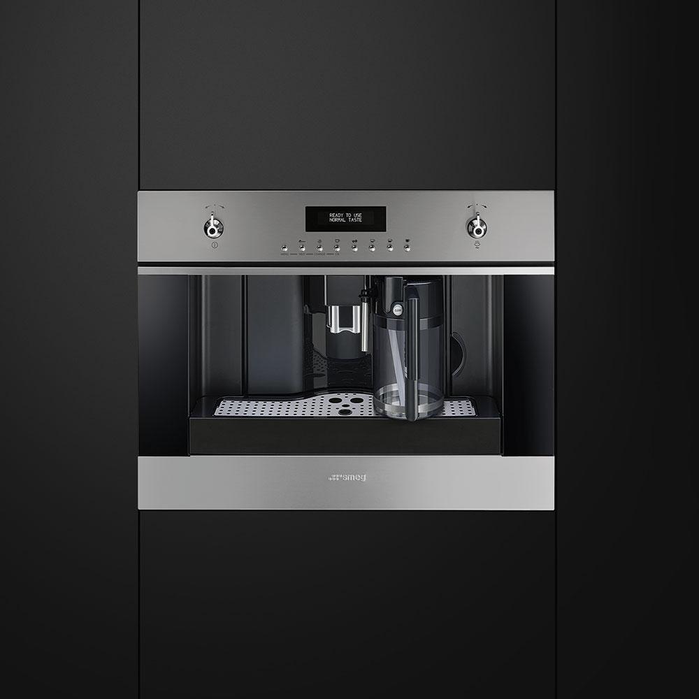 Machine caf encastrable smeg cms6451x pas cher - Machine a cafe encastrable siemens ...