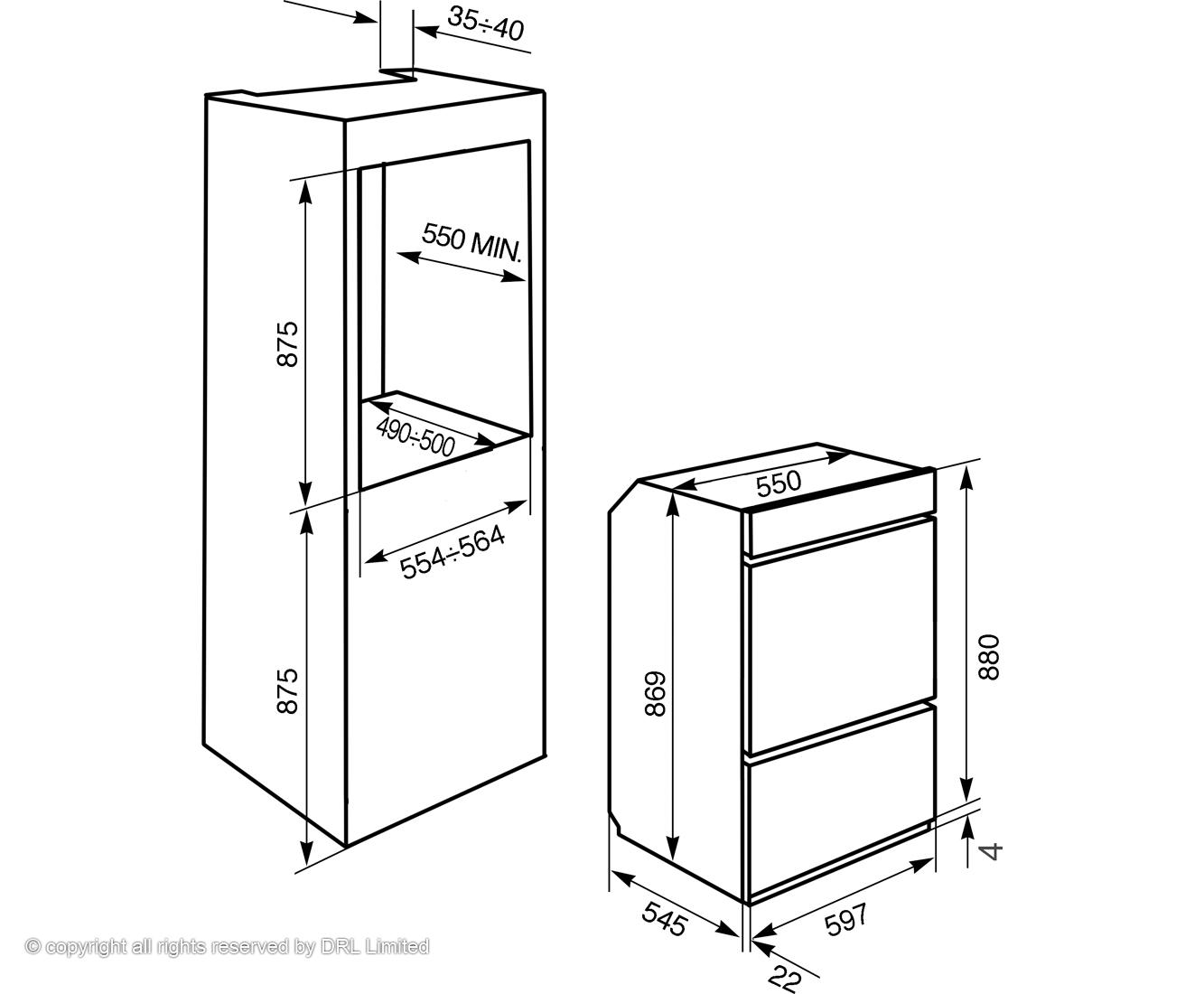 four smeg dosp6390x pas cher. Black Bedroom Furniture Sets. Home Design Ideas