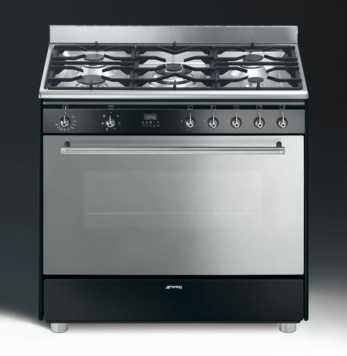 Photo Piano De Cuisson Smeg Mixte GA91N
