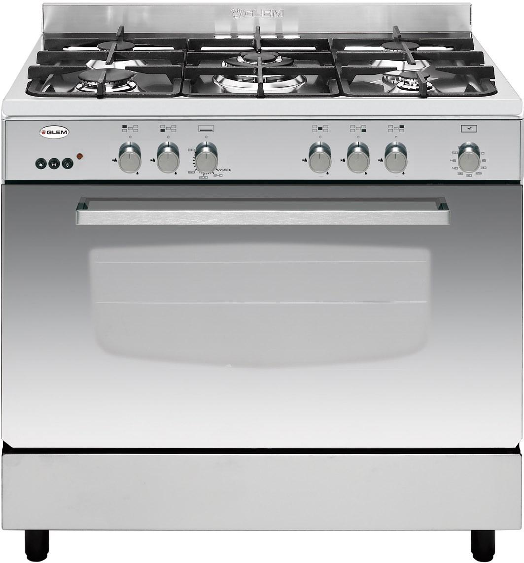 Photo Cuisinière Catalyse Glem GX96CVIX2