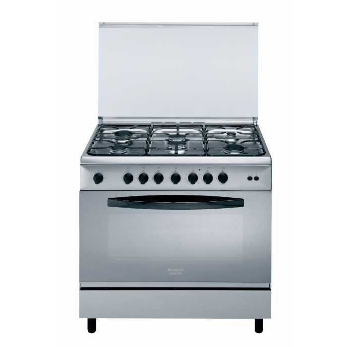 Photo Cuisinière Hotpoint Ariston Mixte C09SG1