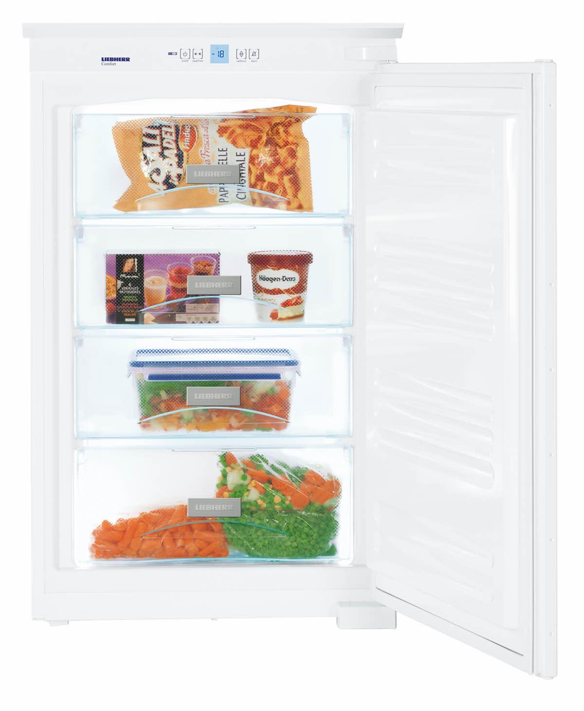 Cong lateur armoire et sous plan int grable liebherr pas cher for Refrigerateur sous plan pas cher