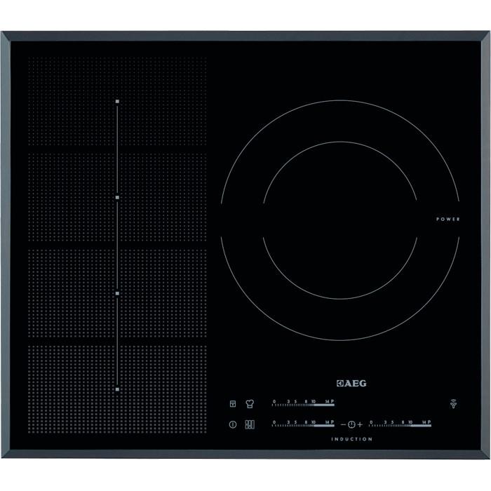 plaque 3 foyers induction en 60 cm de large aeg pas cher. Black Bedroom Furniture Sets. Home Design Ideas