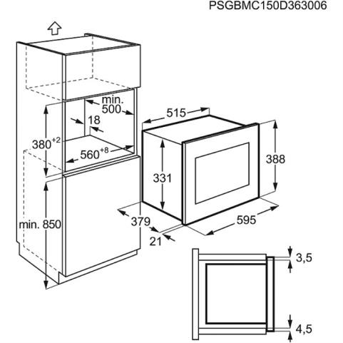 micro ondes electrolux emt25207ox pas cher. Black Bedroom Furniture Sets. Home Design Ideas