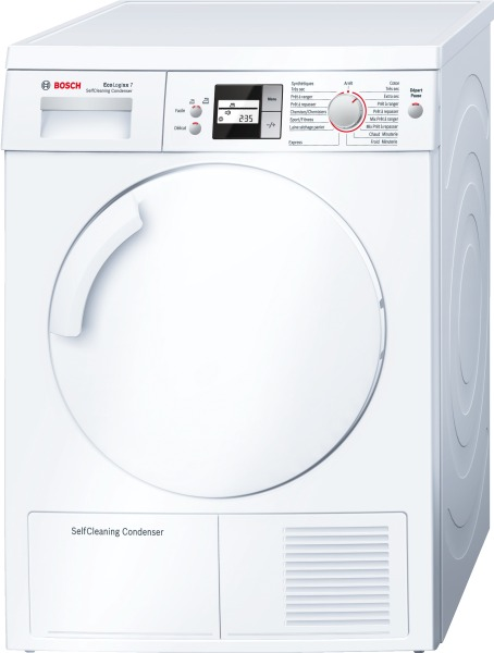 Photo Sèche Linge Condensation Bosch WTW84560FF