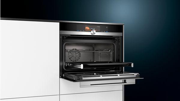 four vapeur encastrable siemens cs658grs2 electro10count. Black Bedroom Furniture Sets. Home Design Ideas