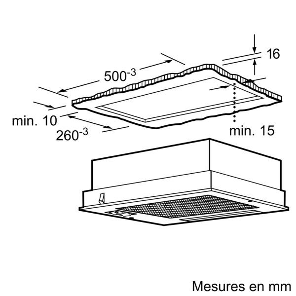 hotte siemens lb23364 pas cher. Black Bedroom Furniture Sets. Home Design Ideas