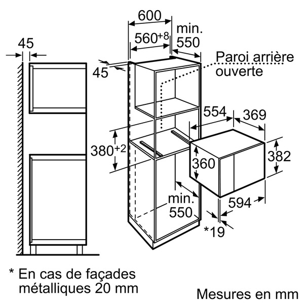 micro ondes neff h12we60n0 pas cher. Black Bedroom Furniture Sets. Home Design Ideas