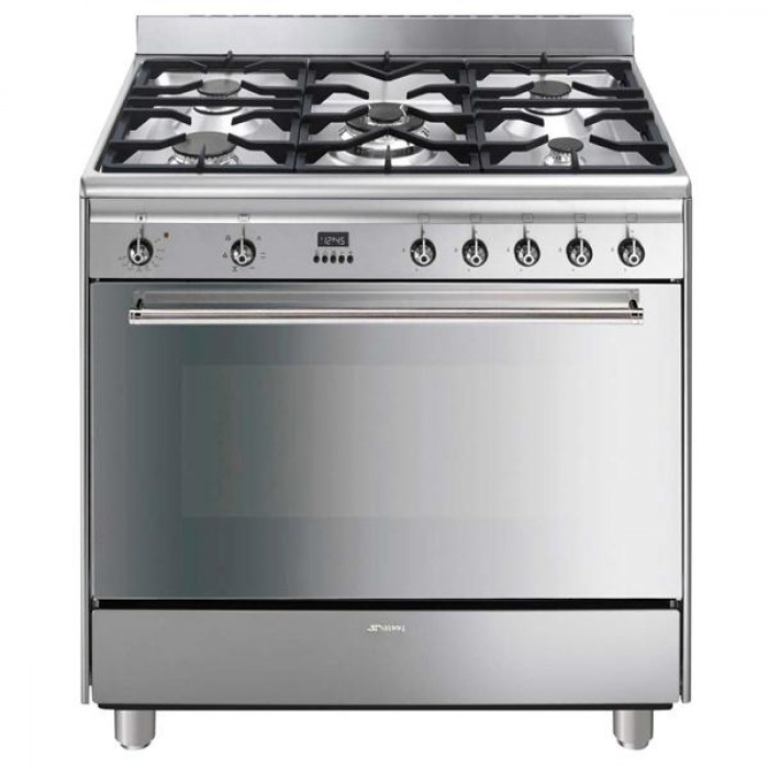 Photo Piano De Cuisson Smeg Mixte GA91CTX
