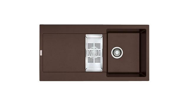 Pack Evier Et Robinet Franke Packmrg651lh Chocolat Pas Cher