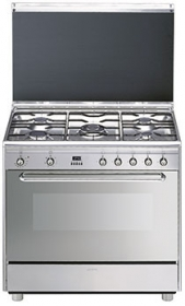 Photo Piano de Cuisson Smeg SCB90MFX6