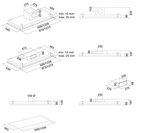 hotte falmec corstel3630 pas cher. Black Bedroom Furniture Sets. Home Design Ideas