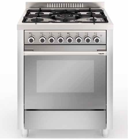 Photo Cuisinière Catalyse Glem GX76CQIX