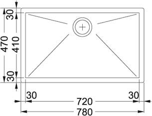 evier franke ppx110 72 pas cher. Black Bedroom Furniture Sets. Home Design Ideas