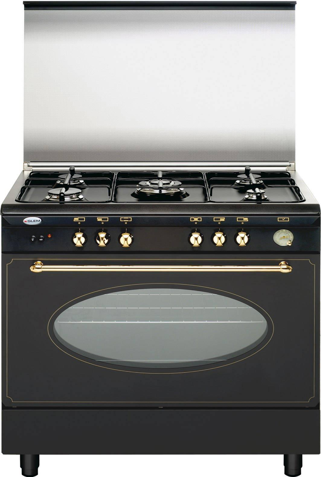 Photo de ua85tr3 - Cuisiniere piano tout gaz ...