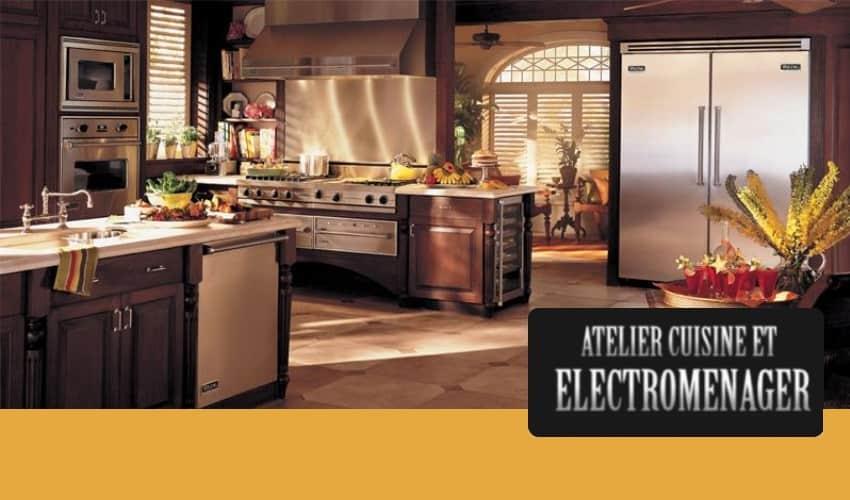 Atelier Cuisine Et Electromenager
